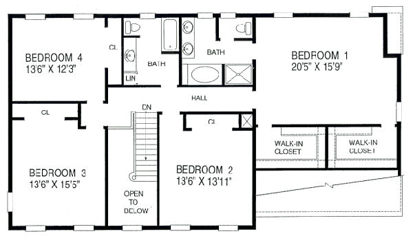 House 21122 blueprint details floor plans Blueprints for my house