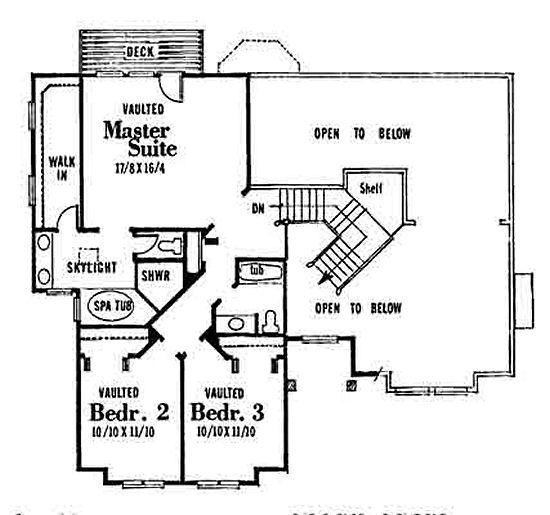 House 28344 Blueprint Details, Floor Plans